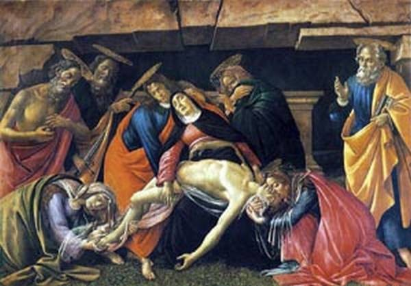 lamentation over the dead bod of christ 1495 XX alte pinakothek munich